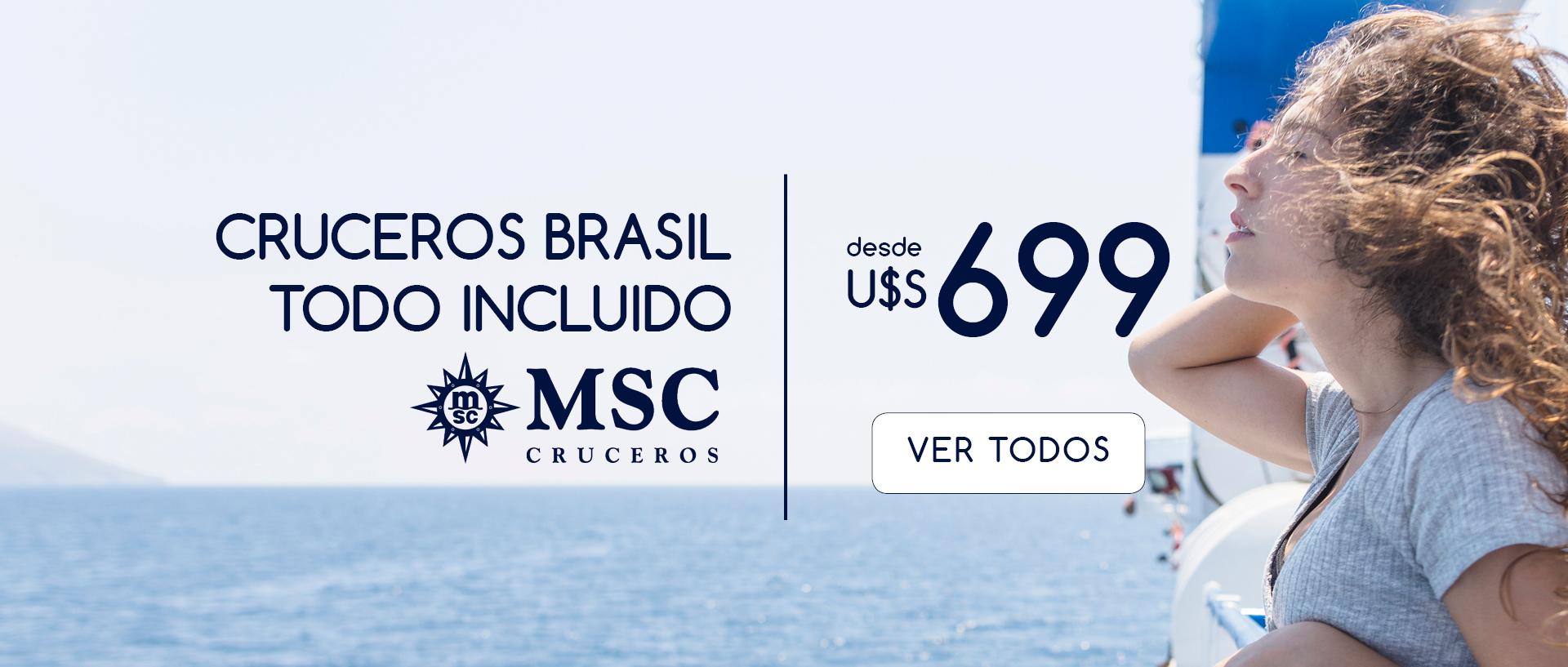 Crucero MSC Brasil